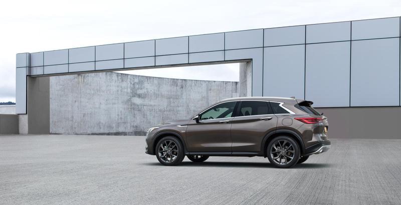 全新一代qx50能够满足豪华汽车消费者对于一台中型豪华suv的全部期待.