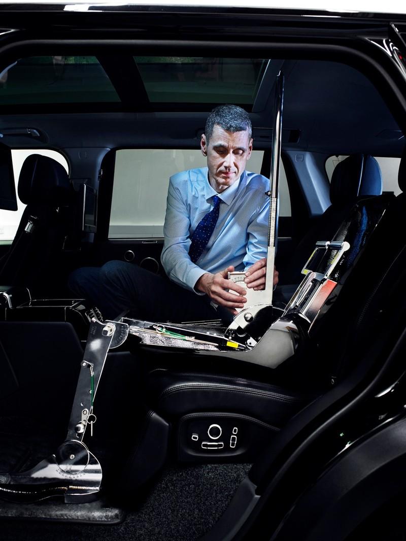 路虎揽胜创造灵感空间:研究发现舒适的车内