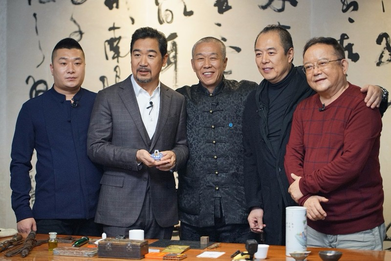 (左起:张闯,张国立,王振海,张铁林,王刚)图片