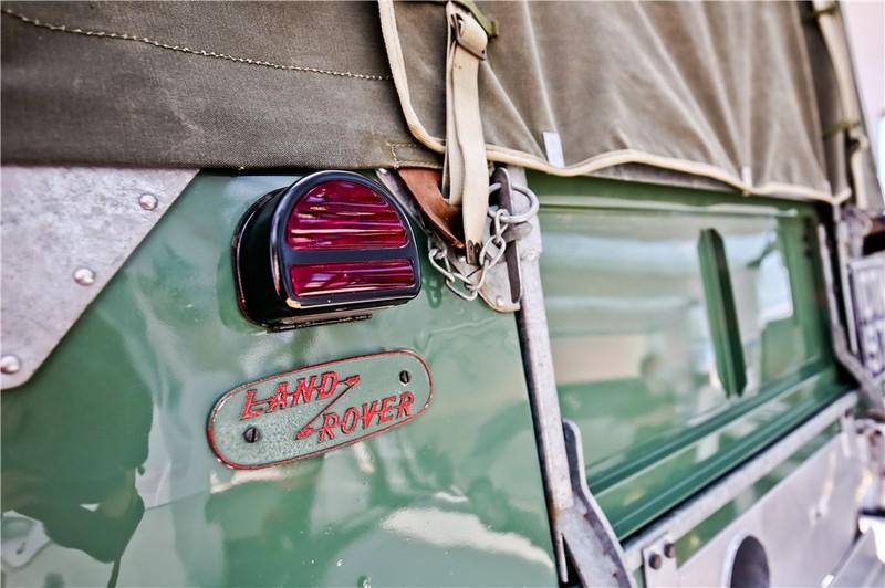 1948年路虎系列1车型亮相北京车展 08