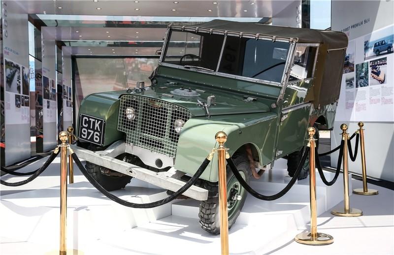 1948年路虎系列1车型亮相北京车展 02