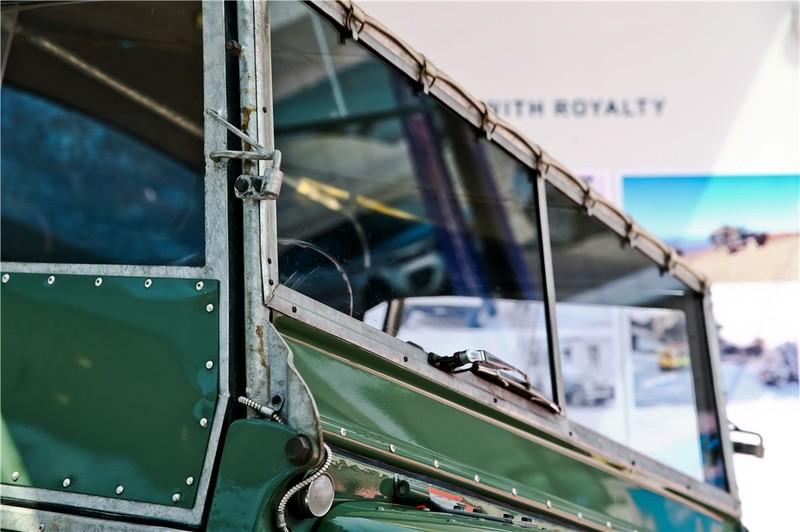 1948年路虎系列1车型亮相北京车展 07