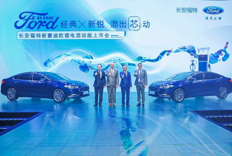长安福特汽车有限公司总裁何骏杰、执行副总