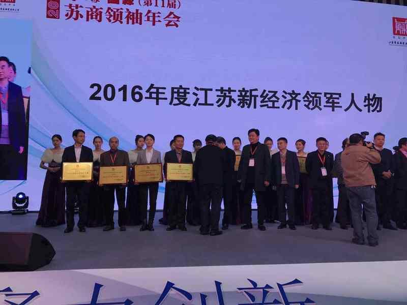 2016年度江苏新经济领军人物星星充电邵丹薇